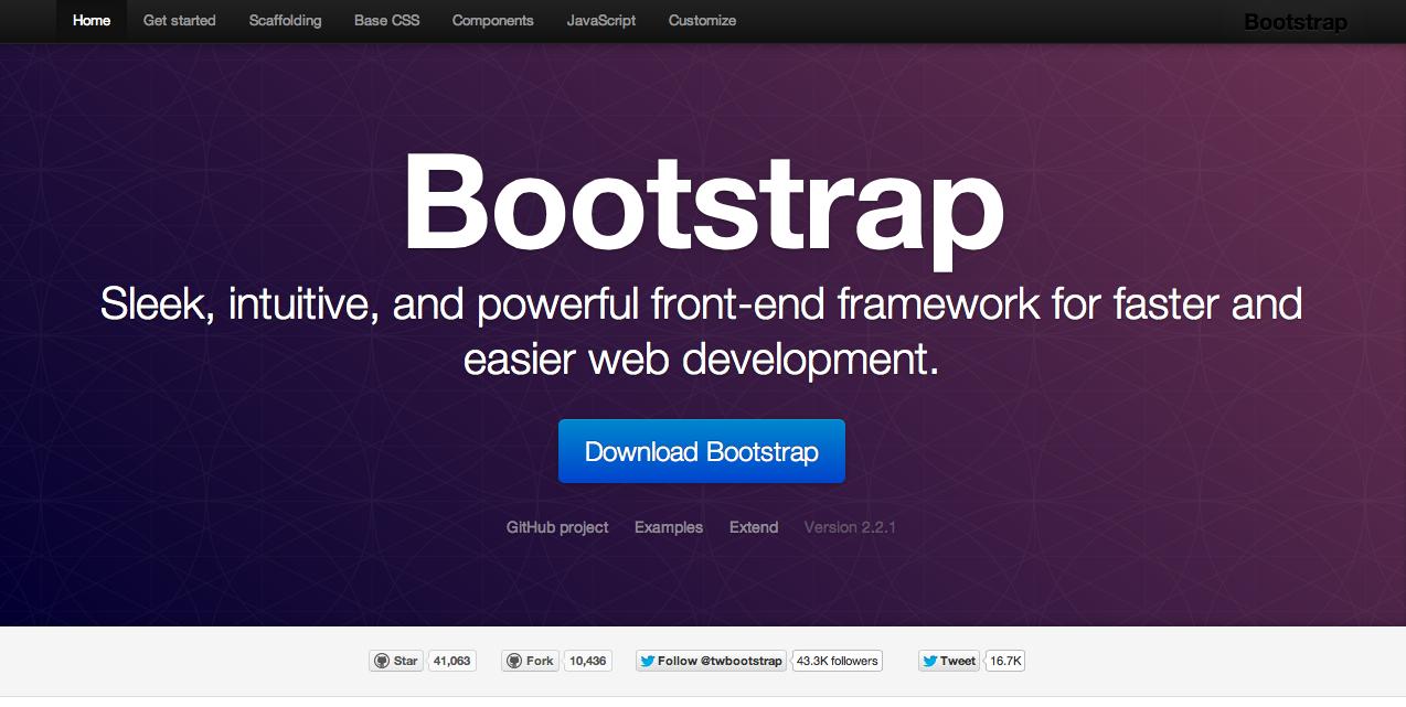 簡単に綺麗で現代的なWebがつくれるCSSフレームワーク「Bootstrap」がおすすめです!