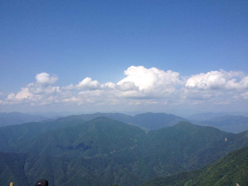 自然と一体になれた、伊吹山トレッキング【2012年 夏】